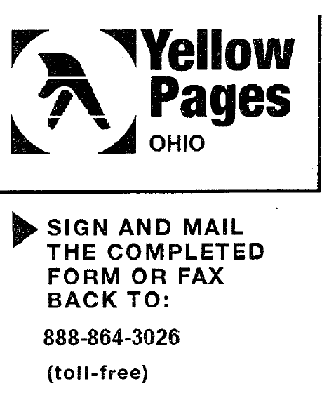 Yellow pages scams